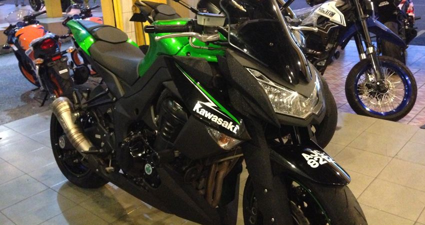 a21100e12a6 Kawasaki Bike. On the day of showroom launch, September 6 2018, the total  amount collected will be officially handed over to the representative of  the ...