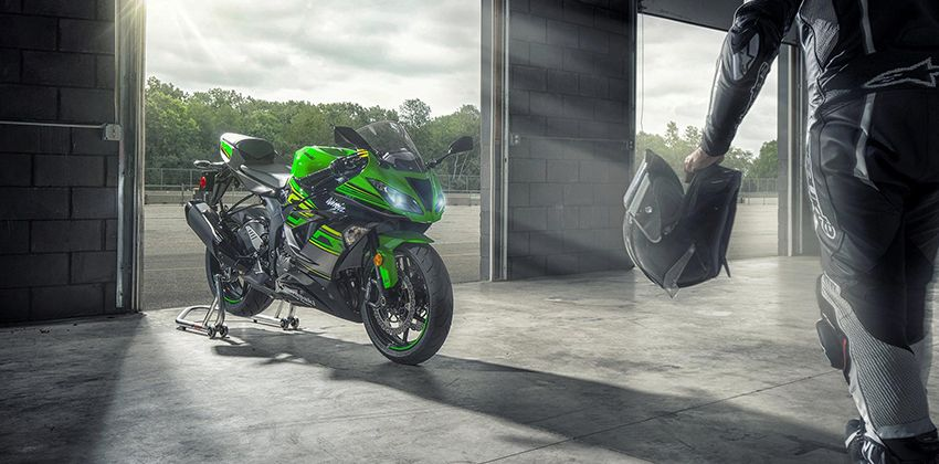 new ZX-6R