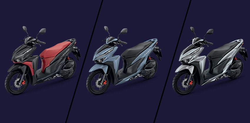 Honda Click 150i  color options